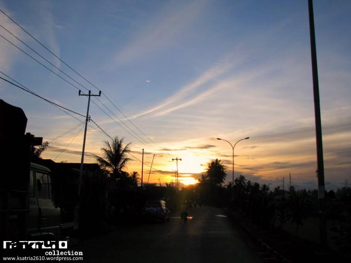 Kota Padang, h-1 gempa